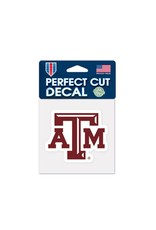 WINCRAFT WINCRAFT 4X4 COLOR DECAL - TEXAS A&M UNIVERSITY LOGO MAROON