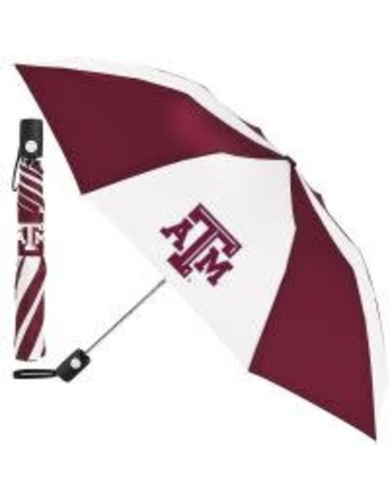 WINCRAFT WINCRAFT AUTO FOLDING UMBRELLA - TEXAS A&M UNIVERSITY