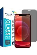 TECH ARMOR TECH ARMOR 2-WAY PRIVACY BALLISTIC GLASS SCREEN PROTECHTOR FOR IPHONE 12 MINI