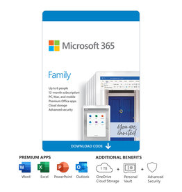 MICROSOFT OFFICE 365 HOME PREMIUM 1-YEAR SUBSCRIPTION