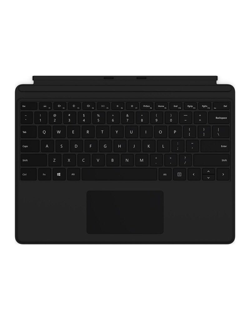 MICROSOFT MICROSOFT SURFACE PRO X NONCHARGING TYPE COVER BLACK