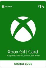 MICROSOFT XBOX LIVE DIGITAL GIFT CARD