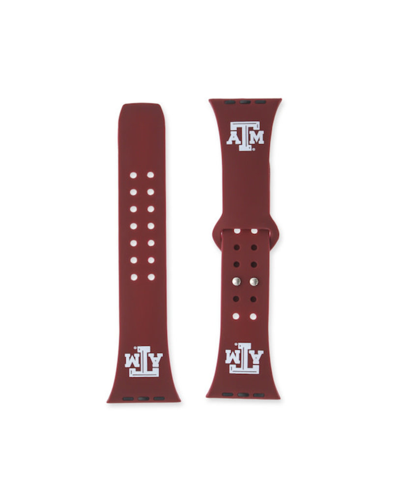 AFFINITY BANDS AFFINITY BANDS 42/44MM SILICONE SPORT BAND - ATM - MAROON