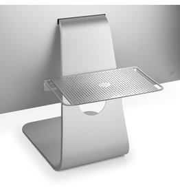 TWELVE SOUTH TWELVE SOUTH  BACPACK 3 ADJUSTABLE SHELF STAND FOR IMAC - SILVER