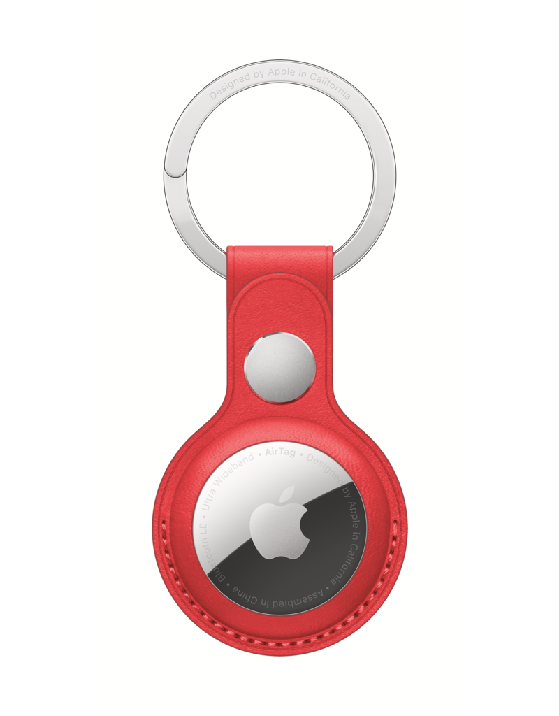 APPLE APPLE AIR TAG LEATHER KEY RING
