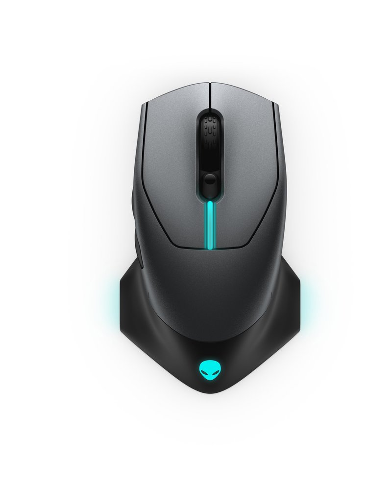 DELL DELL 610M WIRED/WIRELESS GAMING MOUSE - DARK SIDE OF THE MOON