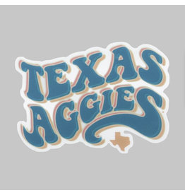 AGGIELAND OUTFITTERS STICKER - FUZZY BUBBLES DRIZZLER