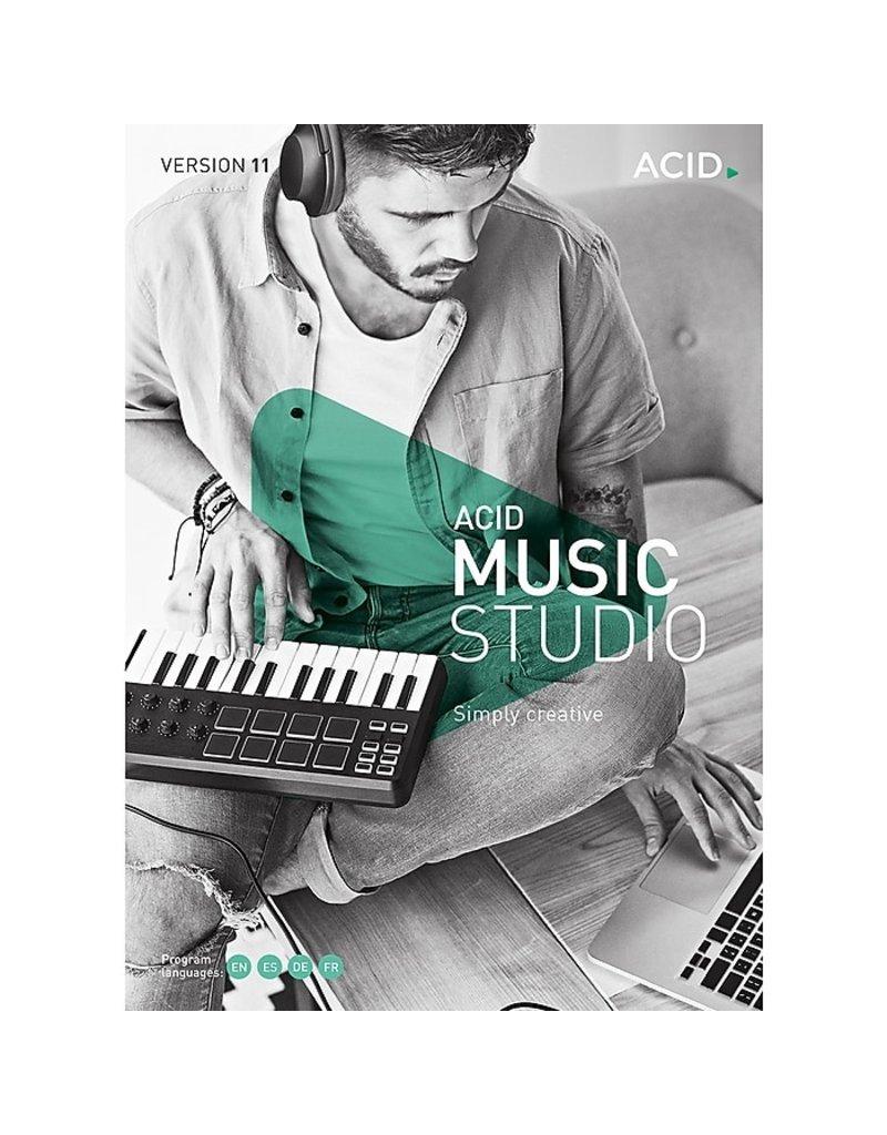 ACID MUSIC STUDIO 11 COMMERCIAL FOR WINDOWS