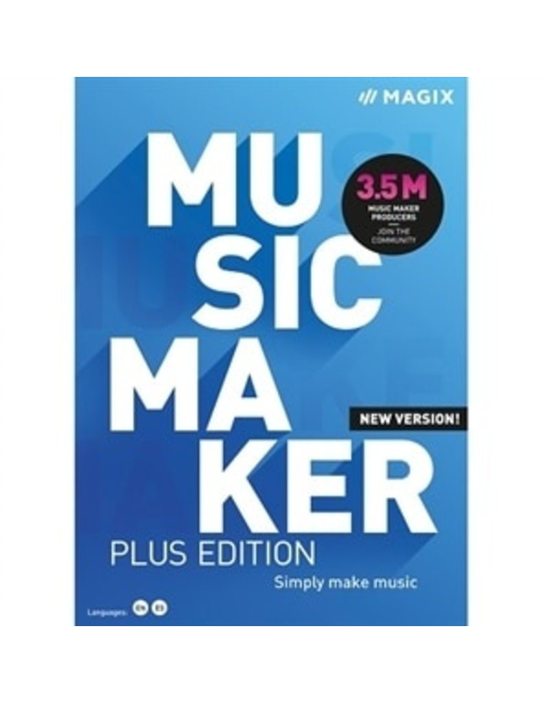 MUSIC MAKER PLUS EDITION COMMERCIAL FOR WINDOWS
