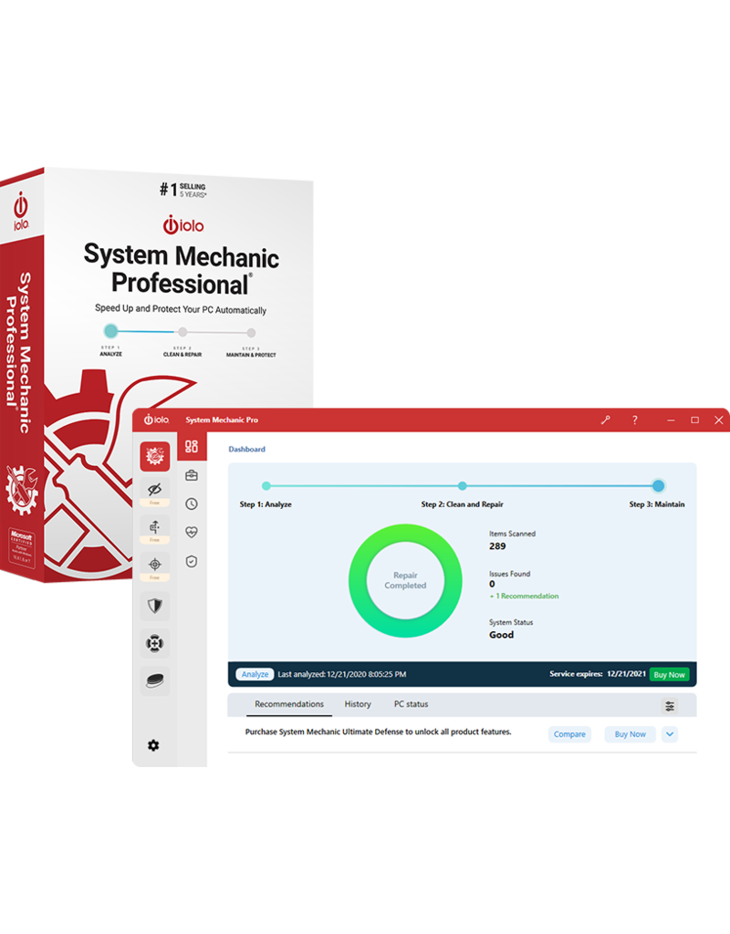 IOLO TECHNOLOGIES SYSTEM MECHANIC PRO COMMERCIAL FOR WINDOWS
