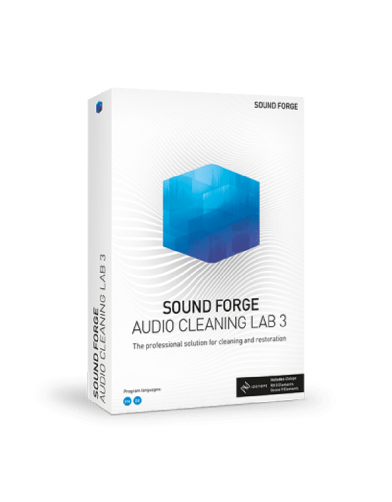 SOUND FORGE AUDIO CLEANING LAB COMMERCIAL FOR WINDOWS