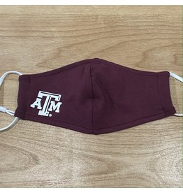 AGGIELAND OUTFITTERS FACEMASK  ATM MAROON