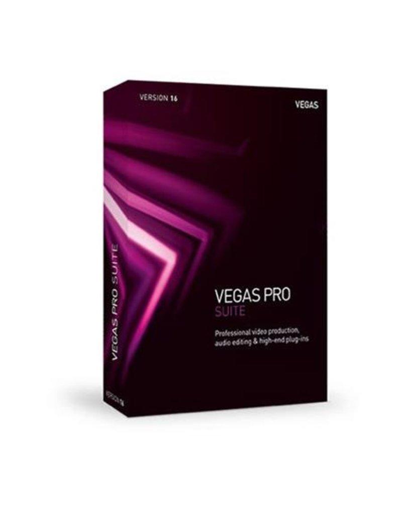 VEGAS PRO 16 SUITE COMMERCIAL FOR WINDOWS