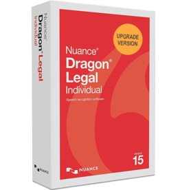 NUANCE COMMUNICATIONS DRAGON LEGAL INDIVIDUAL 15 COMMERCIAL FOR WINDOWS