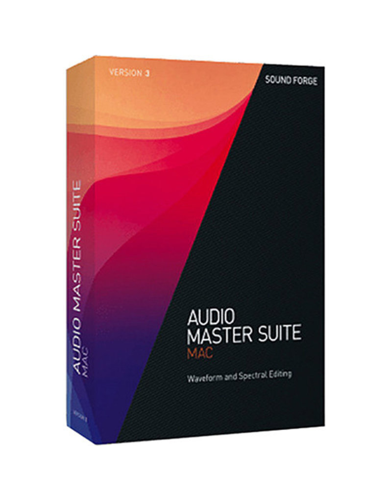 AUDIO MASTER SUITE 3 COMMERCIAL FOR MAC