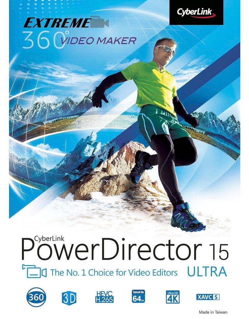 CYBERLINK POWERDIRECTOR 15 ULTRA FOR WINDOWS