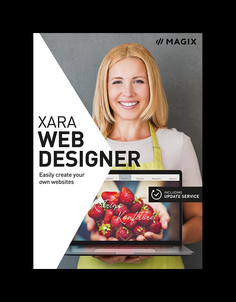 XARA WEB DESIGNER 16 COMMERCIAL FOR WINDOWS
