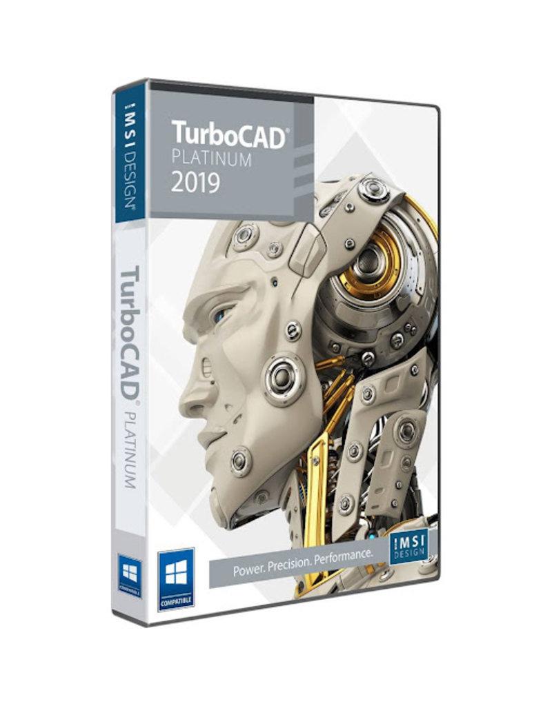 IMSI DESIGN TURBOCAD PLATINUM 2019 FOR WINDOWS