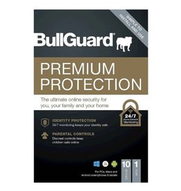 BULLGUARD PREMIUM PROTECTION 2018 COMMERCIAL - 1 YEAR / 10 DEVICES