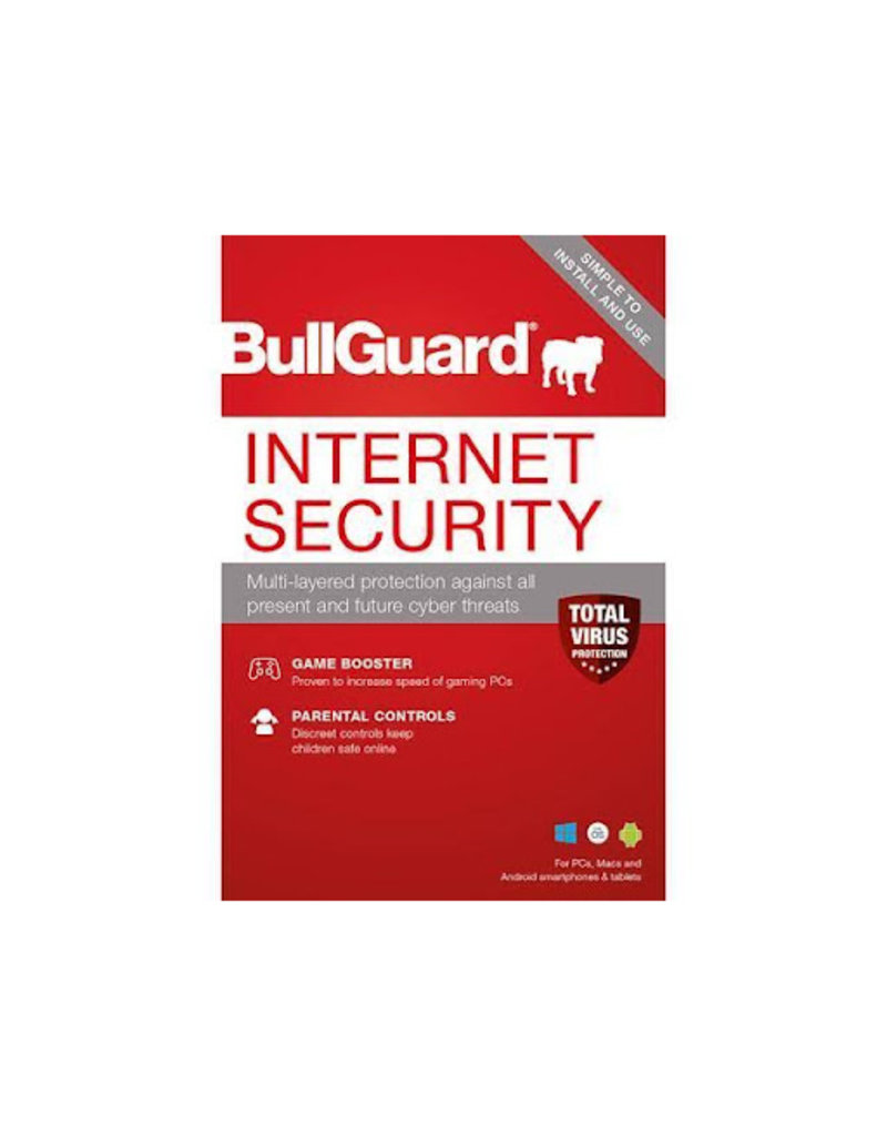 BULLGUARD INTERNET SECURITY 2018 COMMERCIAL - 1 YEAR / 5 DEVICES