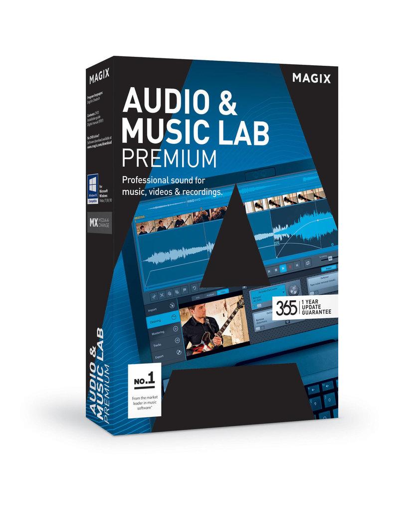AUDIO & MUSIC LAB PREMIUM COMMERCIAL FOR WINDOWS