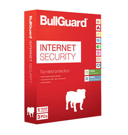 BULLGUARD INTERNET SECURITY 2018 COMMERCIAL - 1 YEAR / 3 DEVICES