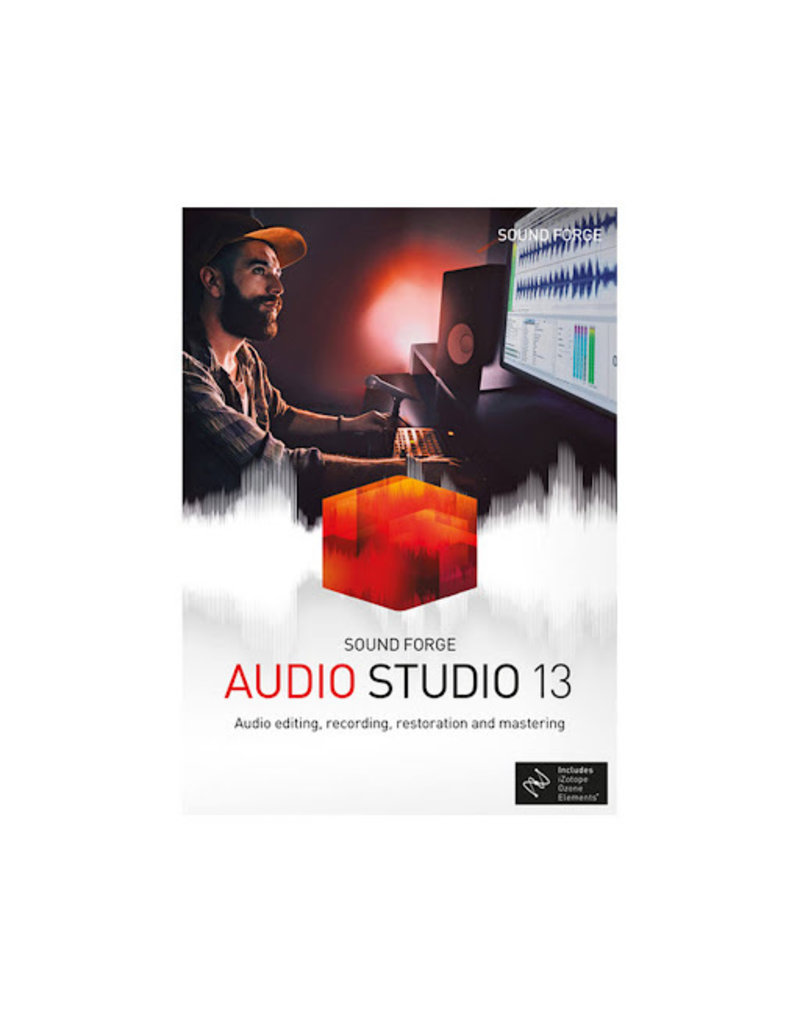 SOUND FORGE AUDIO STUDIO 13 COMMERCIAL FOR WINDOWS
