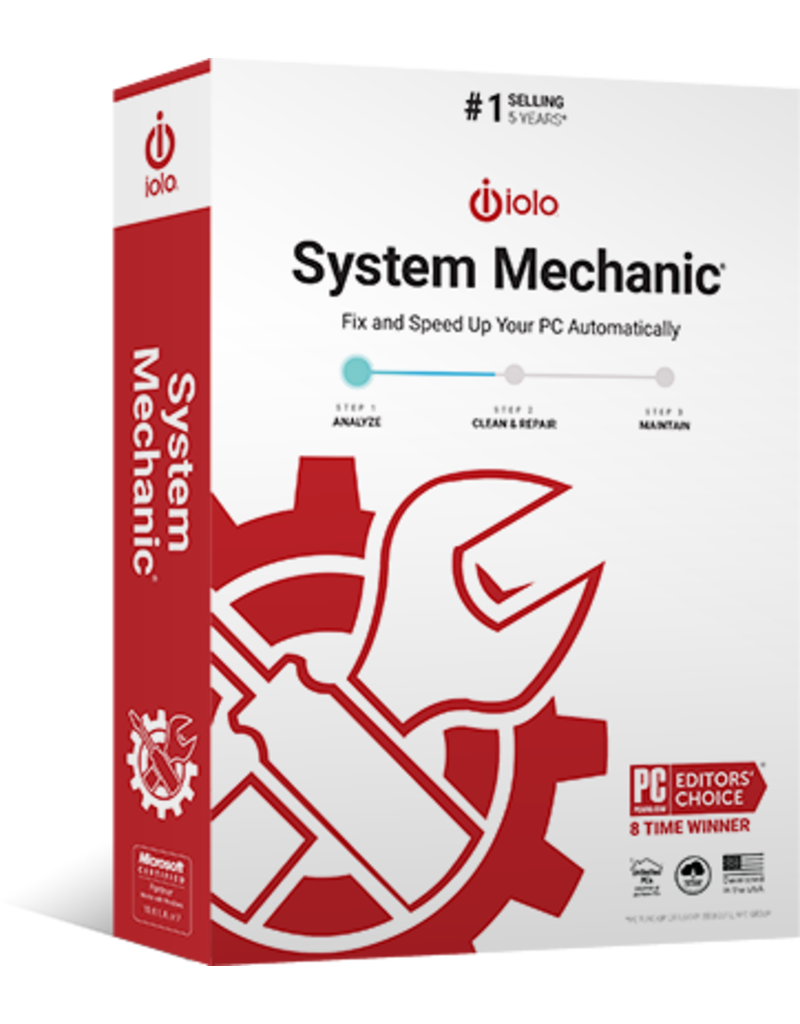 IOLO TECHNOLOGIES SYSTEM MECHANIC COMMERCIAL FOR WINDOWS