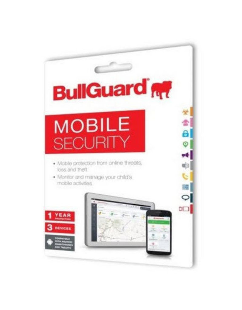 BULLGUARD MOBILE SECURITY 2018 COMMERCIAL - 1 YEAR / 3 DEVICES