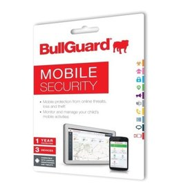 BULLGUARD MOBILE SECURITY 2018 EDUCATIONAL - 1 YEAR / 3 DEVICES