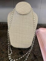 Small pearl bead necklace