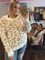 Champagne Leopard Sweater