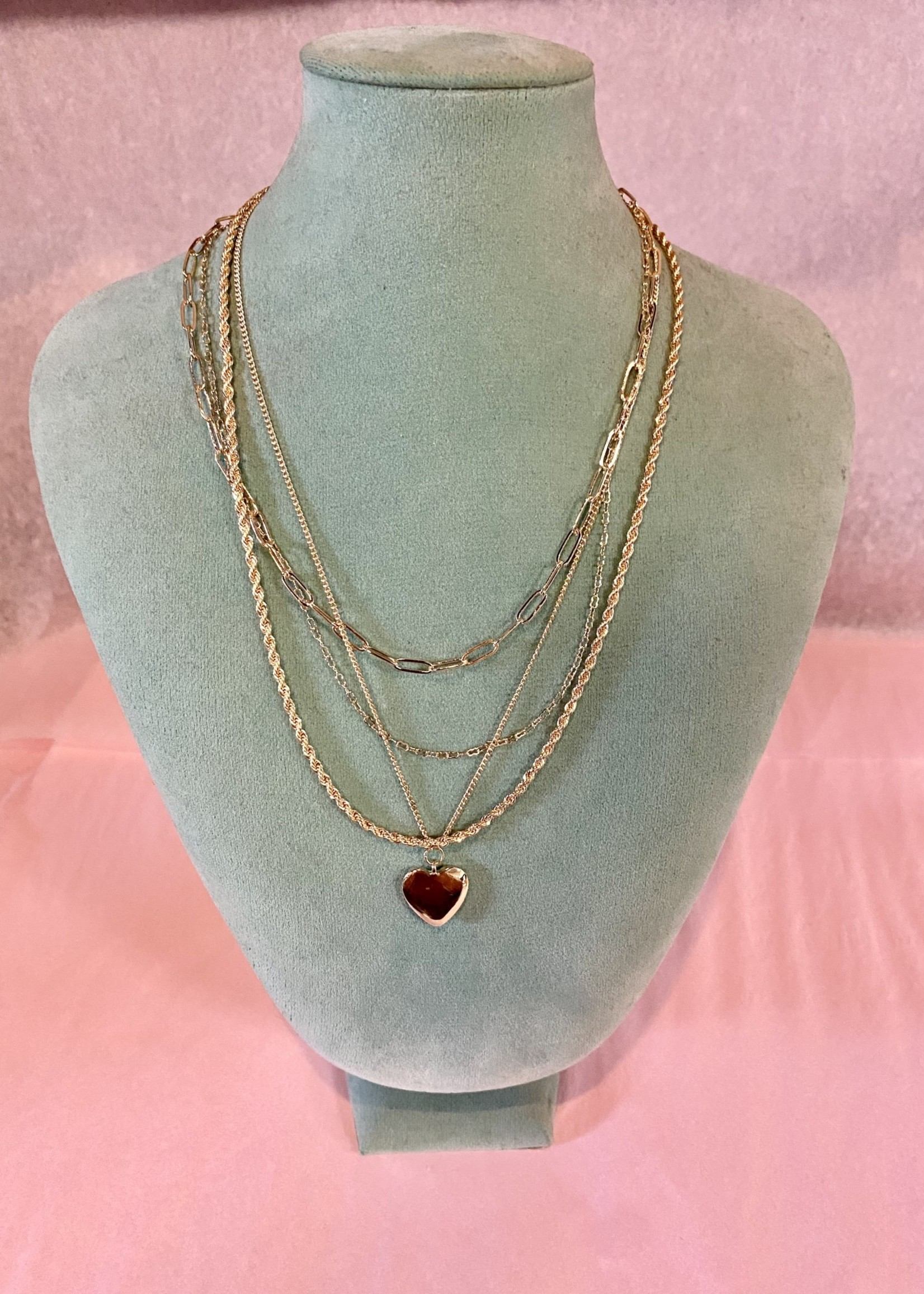 Gold Layered Heart Pendant