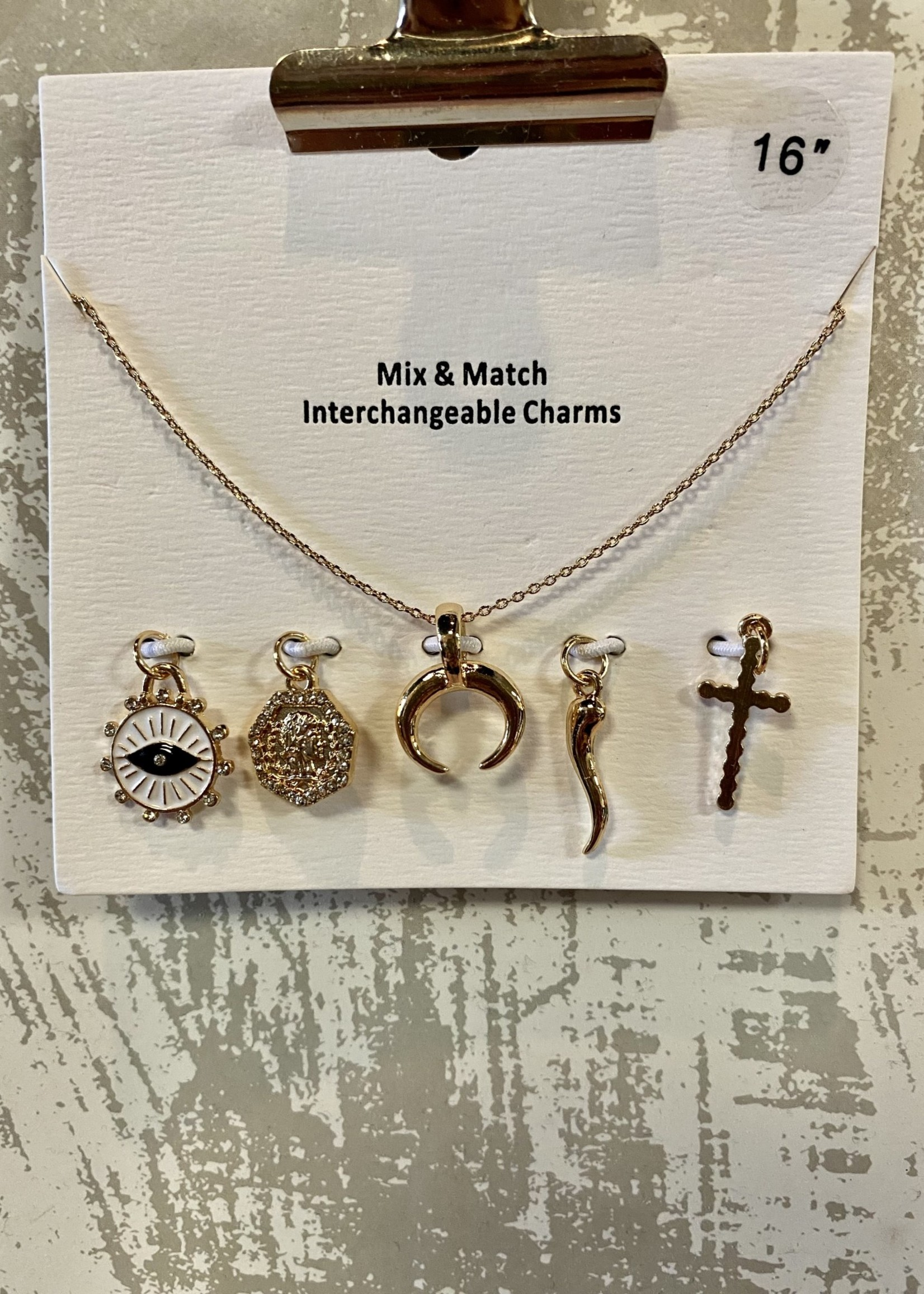 Gold Interchangeable Chain Necklace