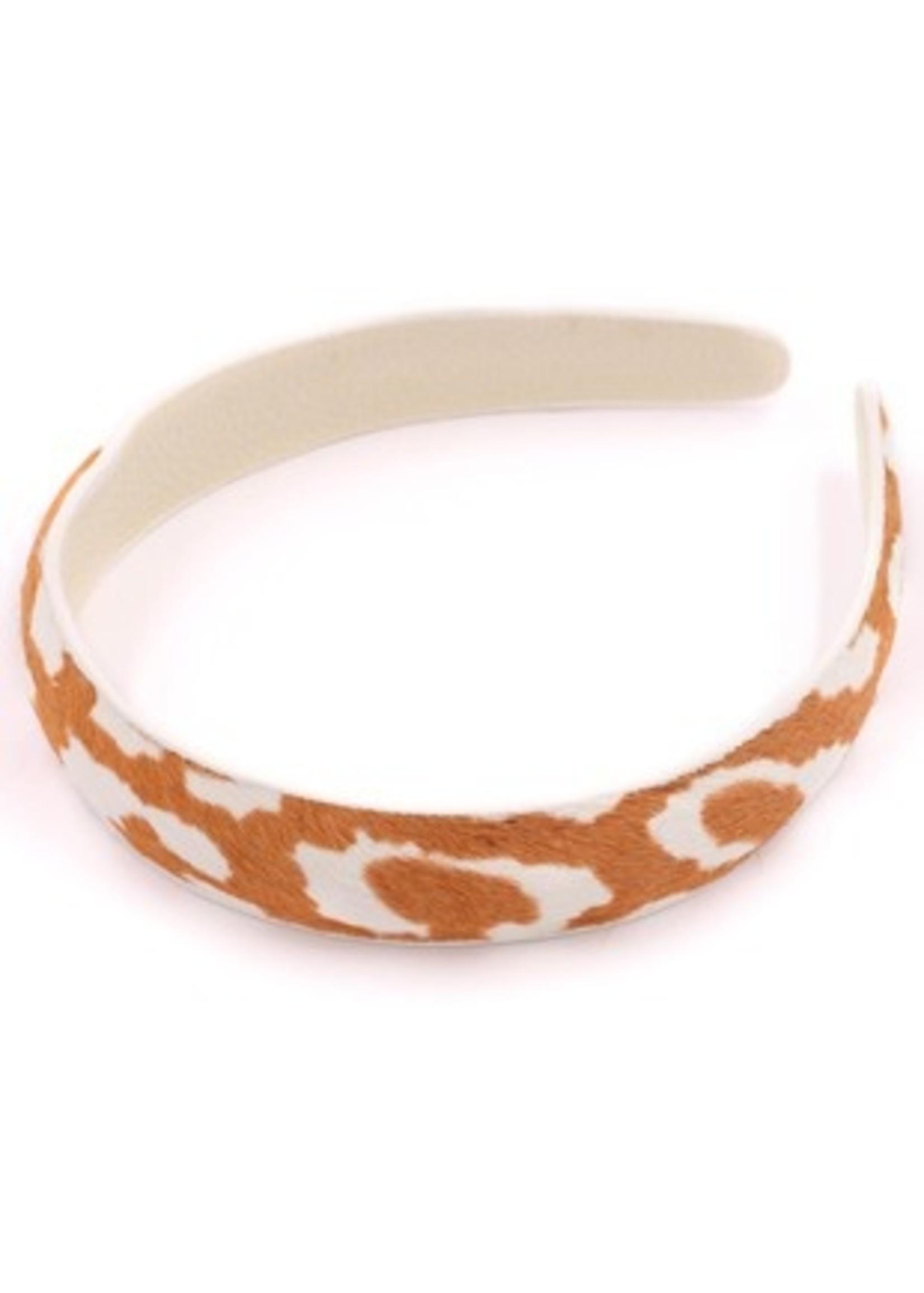 Giraffe Print Headband