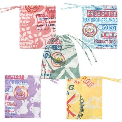 Global Mamas Batik Flour Sack Small Produce Bag