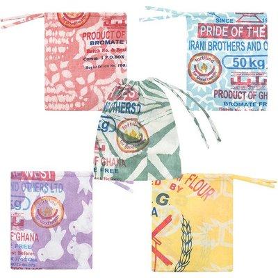 Global Mamas Batik Flour Sack Small Produce Bag