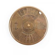 Ten Thousand Villages 100 Year Brass Calendar