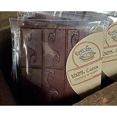 River-Sea Chocolate 100% Cacao 1 oz Chocolate