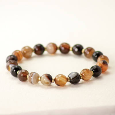 DZI Handmade Agate Stones Bracelet