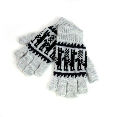 Minga Imports Alpaca Blend Fingerless Gloves