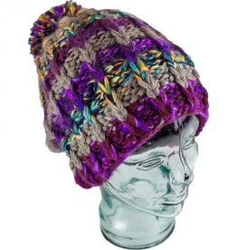 Andes Gifts Altiplano Alpaca Wool Hat with PomPom