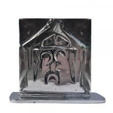 Women of the Cloud Forest Aluminum Relief Manger Nativity Scene