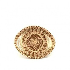 Mayan Hands Aracely Pine Needle and Wild Grass Basket