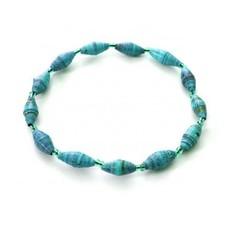 Imani Workshops 1 - Strand Magazine Bracelet Aqua