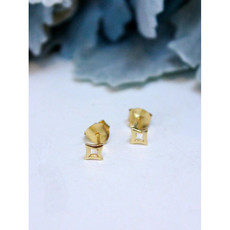 Fair Anita 14K Gold Plated Star Studs