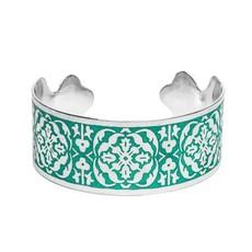 Matr Boomie Arabesque Cuff - Silver