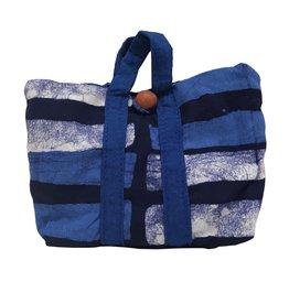 Unique Batik Batik Pocket Tote Shopping Bag
