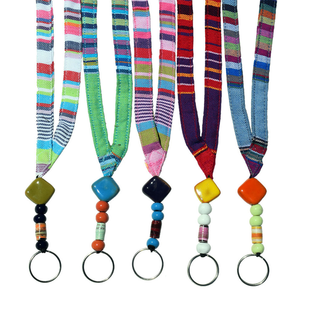 Imani Workshops Beaded Lanyard