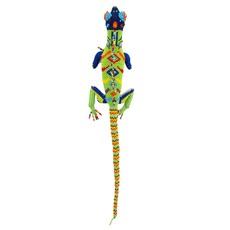 Unique Batik Beaded Large Iguana Lizard